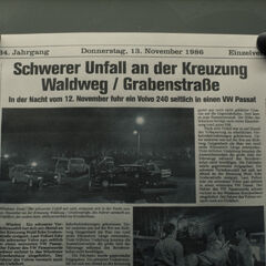 Article about the accident