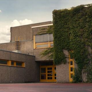 The school in June
