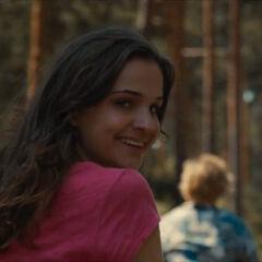 Martha smiles
