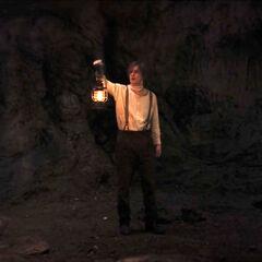 Using a lantern