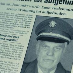 Egon found dead