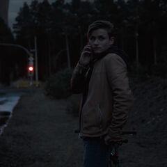 Bartosz waits for the call