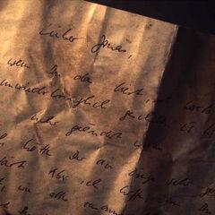 Michael's letter