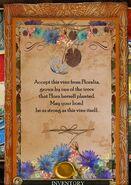 TT&TTB Floralia Wedding Gift Message