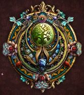Flora emblem
