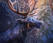 Gfs-moon-stag-statue