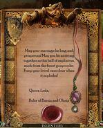 TT&TTB Leda's Wedding Gift Message