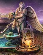 Angel statue cheryl