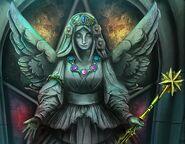 Rrs moon goddess statue