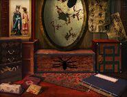 Oriental chi desk