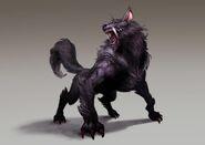 Mist wolves concept