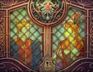 TTatT Gwyn and Gerda stain glass