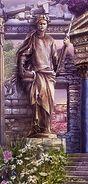 Maiden goddess statue