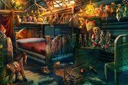 Pinocchio room concept