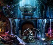 Oriental spider queen cave