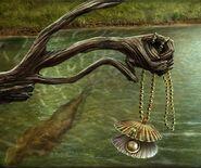 Boy mermaid pearl