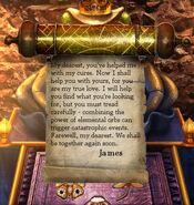 Prince james scroll