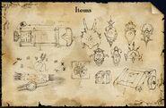 MG Items concept art
