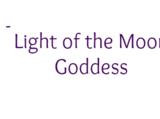 Light of the Moon Goddess