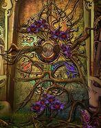 Nightblooms seal door