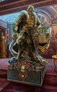 Beast statue 1