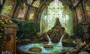 Ivy shrine before