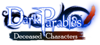 Dark Parables Wiki-Current Logo Revamped-Deceased Characters