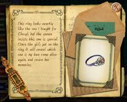 Blaise diary ring