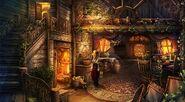Pinocchio cabin