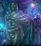 Shadow God Statue
