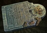Cobr king tombstone