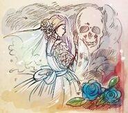 Drawing of cheryl bride