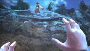 Blaise reaches cheryl falls