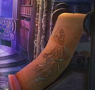 Sea goddess scroll library