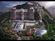 Hilltop Mansion concept art