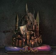 Mist castle miniature