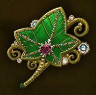 Ivy shaped key