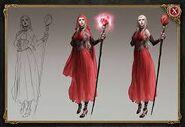 Briar rose robe
