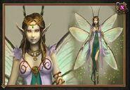 Fairy queen concept