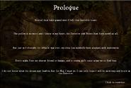 Thumbelina Prologue