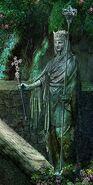 Cobr queen statue