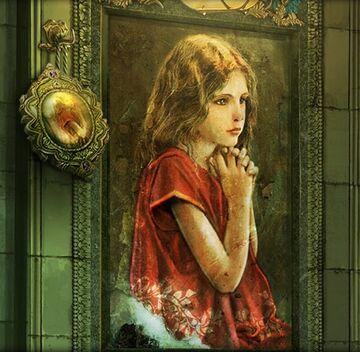 Golden child portrait