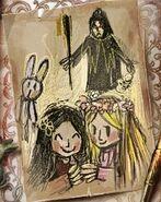 Rapunzel gothel drawings