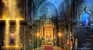 Sky kingdom throne room