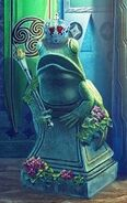 Tsp-james-frog-statue-in-odette-room