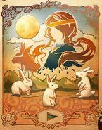 MR Moon Rabbits parable