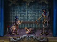 Puppet show dim