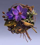 Bellflower bird tcm