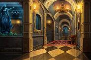Underground foyer