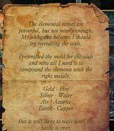 TT&TTB Rasputin's Note On Elemental Seals